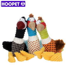 HOOPET Dog Cat Pet Toys Sound Puppies Animal Shape Toys Products High Quality Cute(China)