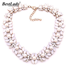 Best lady New Colorful Z Big Brand Statement Sweater Chain Winter Accessories For Women Wholesale Hotsale Necklace B231