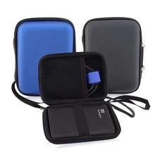 2.5 inch external hard drive bag case power bank protector bag 2.5 HDD Case Pouch with hand rope