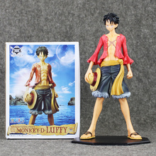 25cm Anime One Piece Figure Toy Monkey D Luffy Model Doll Master Stars Piece for Collection(China)