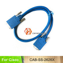 High Quality 3FT Length Router Cable CAB-SS-2626X DTE/DCE Smart Serial cable for Cisco Router(China)