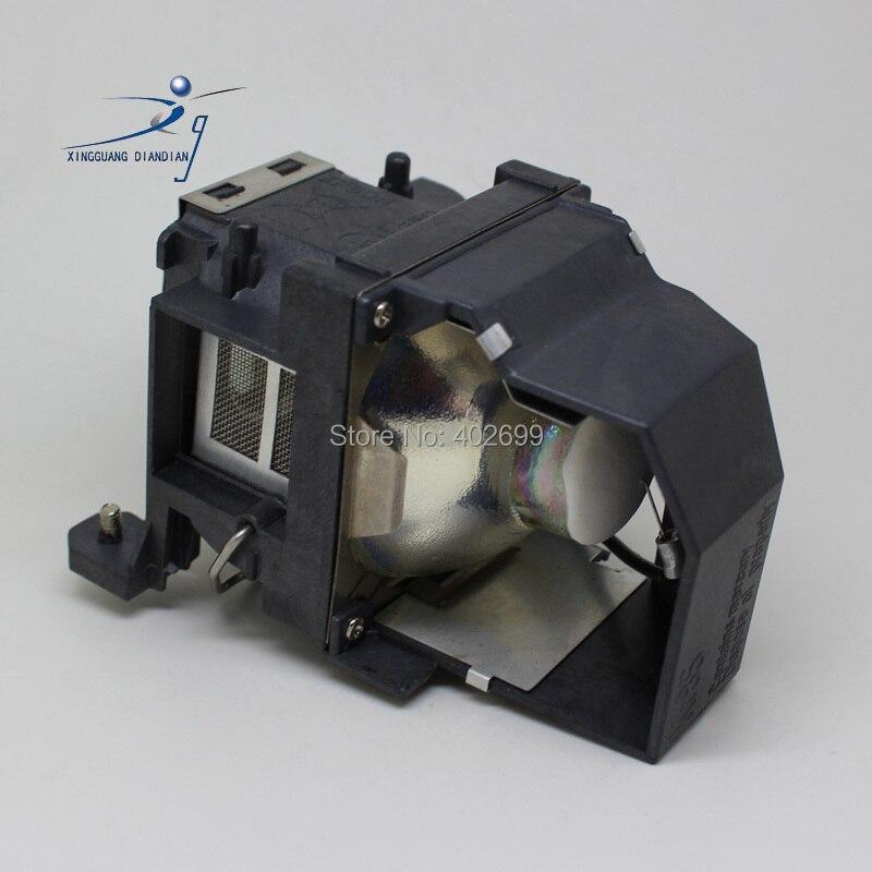 ELPLP48 projector lamp bulb for EPSON EB-1716 EB-1720 EB-1720C EB-1723 EB-1725 EB-1730W EB-1735W H269A H269C<br>
