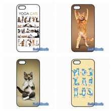 Cool Design Popular Yoga Cats Style Phone Cases Cover For Blackberry Z10 Q10 HTC Desire 816 820 One X S M7 M8 M9 A9 Plus