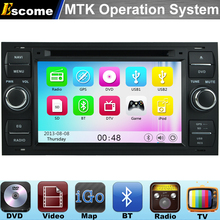 MTK3360 Car DVD Player For Ford C-MAX 2006 2007 2008 2009 2010 Ford Fusion with 800MHz CPU Dual Core Bluetooth Radio GPS