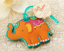 "Wedding Favor ""Lucky Elephant"" Luggage Tag Airline Luggage Creative Gifts"