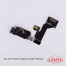 10pcs/lot Light Proximity Sensor Flex Cable for iPhone 6S 4.7'' Small Front Facing Camera Len Microphone Assembly(China)