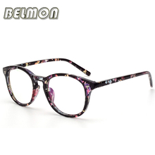 Vintage Eyeglasses Frame Women Computer Optical Glasses Spectacle Retro For Women's Transparent Female Armacao Oculos de RS204(China)