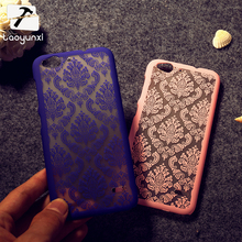 Cases For ZTE Blade S6 Q5 Q5-T Damask Vintage Flower Plastic Covers Bags Shell For ZTE Blade S6 Q5 Mobile Phone Bag Case Cover