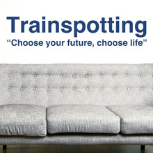 TRAINSPOTTING Future Life Choice Wall Art Stickers Decal Wall Art Home Decoration Wall Sticker Removable Room Decor Stickers