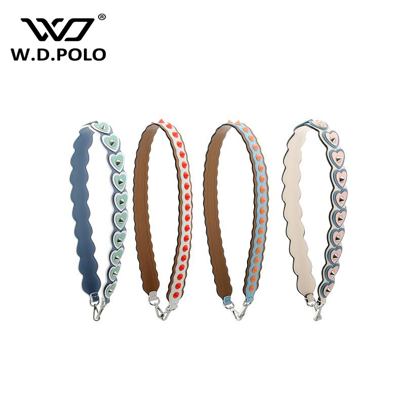 WDPOLO  good quality women leather handbag strap super fashion lady shoulder bag belts all kind bag matching girl gift z1081<br>