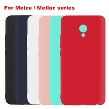 Ultrathin Matte Case For Meizu Pro 6 6s plus MX6 M3 Max M5 M3 Note Candy Matte Cell Back Covers M5 Note M3 Mini M5s X Meilan M3E