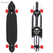 High Quality41 Inch Longboard Complete Outdoors Fun Adult Wooden Deck Skate Board Skateboard Non-slip and Frosting Surface