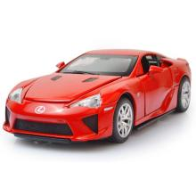 Simulation 1:32 scale toyota diecast sport car Lexus LFA metal model with light and sound pull back alloy toys for collection