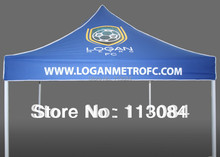 FREE SHIPPING ! 3m x 3m aluminum advertising tent / promotion gazebo/ canopy marquee with printing on roof and valance