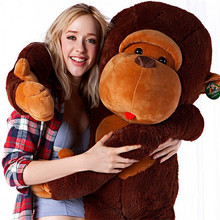 "wholesale 43"" 35"" 28 ""Great Giant, Big Jumbo stuffed Soft animal Monkey Plush Toys 110 cm 90cm 70cm hull"