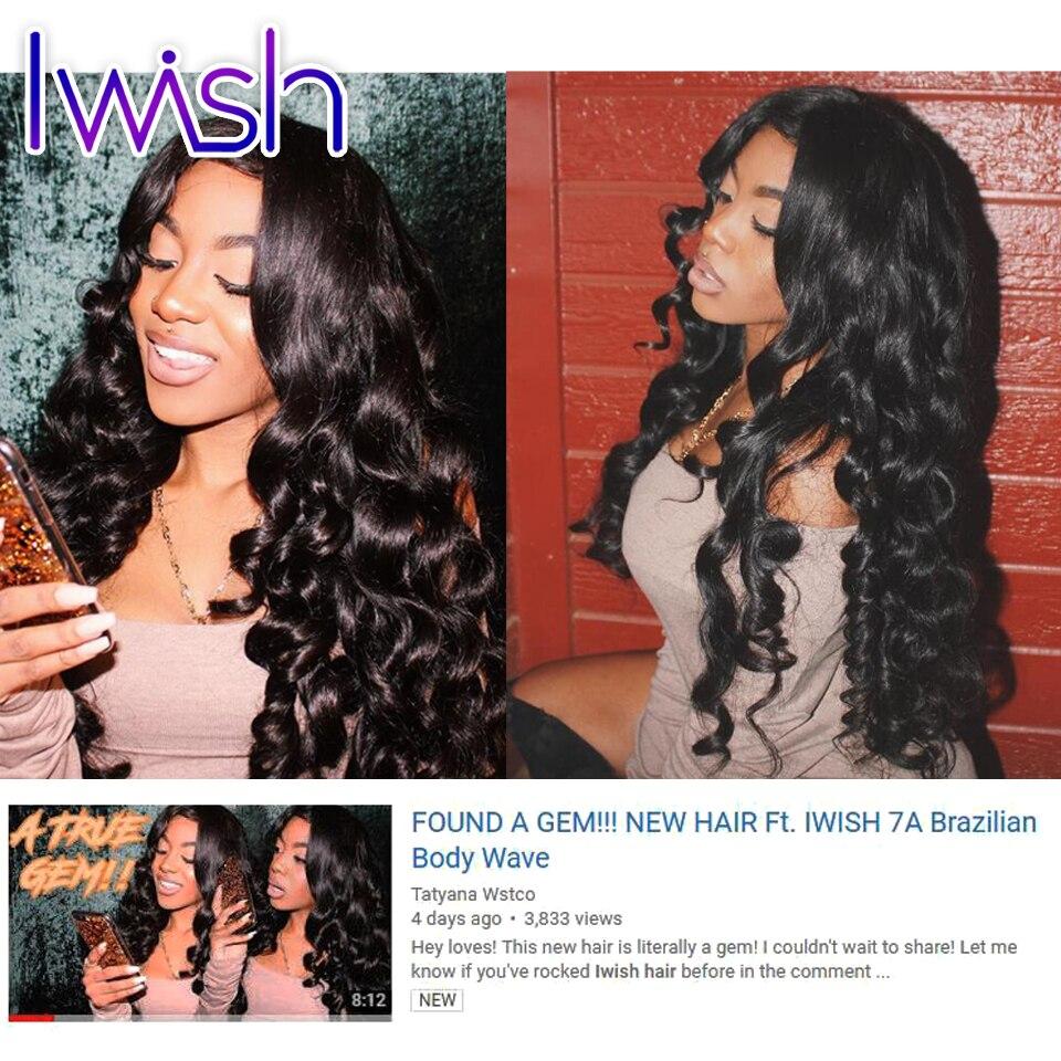 Iwish Hair 4 Bundles Brazilian Body Wave Brazilian Hair Weave Bundles Virgin Brazilian Hair Human Hair Weave Brazilian Body Wave<br><br>Aliexpress