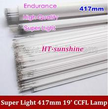 "500PCS Free Shipping 417mm*2.4mm CCFL tube Cold cathode fluorescent lamps for 19"" widescreen LCD monitor"