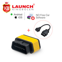 Launch X431 Easydiag 2.0 Diagnostic Tool Easy diag plus for Android/IOS 2in1 Update Online+OBD16pin extension better than elm327