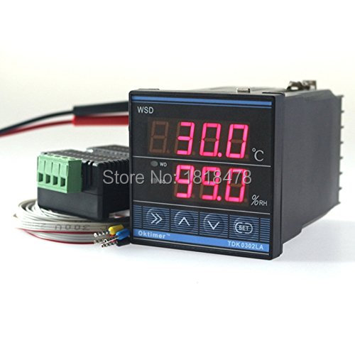 Digital TDK0302LA Humidity Temperature Controller 220V LED Display Home Egg Incubator Farming Thermometer CN902 Thermostat<br>