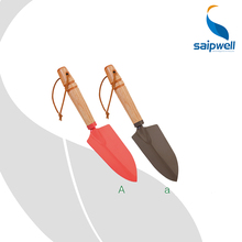 1pc. Mini Garden Hand Tools /Red or Brown Color Stainless Steel Hand Trowel Shovel for Plant & Flower Tool SP-6079(A)(China)