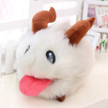 New LOL Poro plush toy Poro Doll Legal Edition High quality 25 cm 1pcs SUPER CUTE& SOFT &HIGH QUALITY Kids Toys Gift