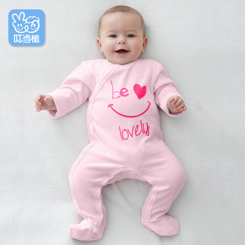 Baby Girl Boy Romper Jumpsuit Clothes Pink Blue for Children Newborn Clothes Spring and Autumn Clothing Infant Onesie<br>