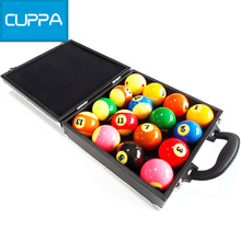 New Arrival Cuppa Pool Table Case Black Billiard Balls Case Billiards Accessories China