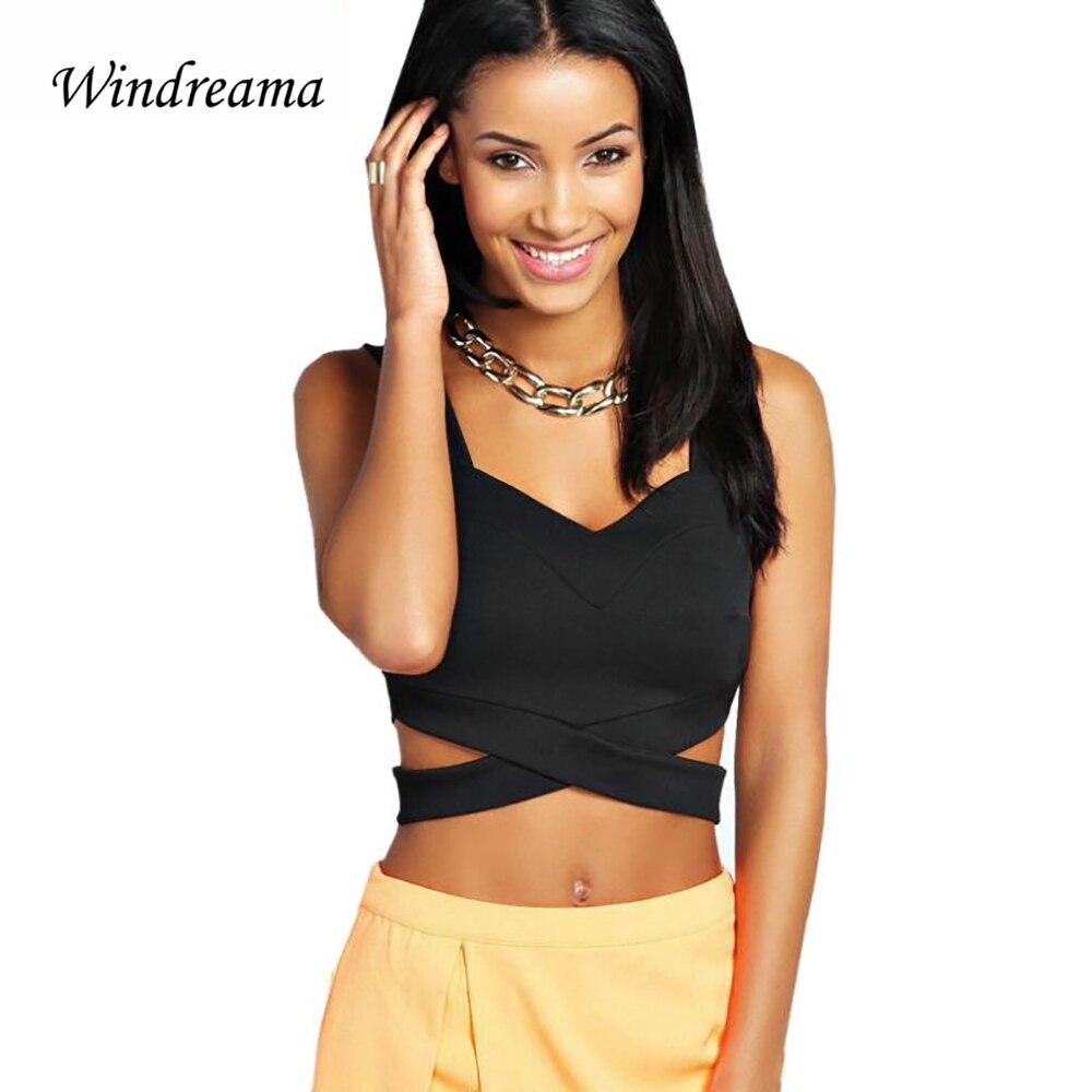 Windreama New Fashion Women Sexy Bralet Bustier Cr...