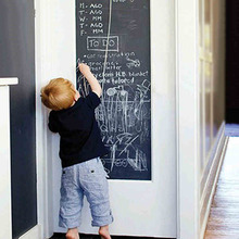 45*200cm Chalkboard Wall Sticker Cultivate Children's DIY Kids Room Removable Graffiti Painting Decor Mural Decals Art(China)
