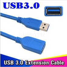 Universal USB 3.0 Extension Cable 1m High Speed M/F Male To Female Wire data Connector Adapter HOT