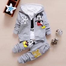 Buy New Minnie Baby Girls Boys Clothing Sets Kids Autumn Character Cotton Long Sleeve Shirt + Pants 2 Piece Children Clothing Set for $11.54 in AliExpress store