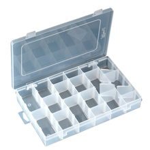Component Storage Tool Box Electronic Component Box 36 Grids Activities Shatterproof Parts Box Patch Box(China)