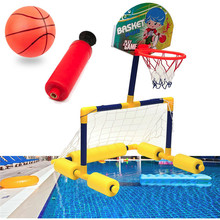 Water Sports Kids Child Swimming Pool Basketball Toy Water Floatation Basketball Game Equipment Pool Toy Game Pool Accessories(China)