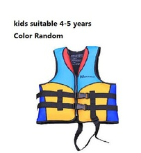 Latest 100% NEOPRENE professional high-end kids life jacket immersion suits surfing fishing yacht  life jacket 3-14 years