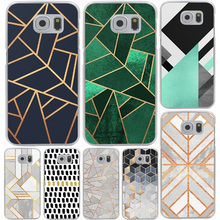 Marble Line Luxury Hard Cover Case for Galaxy S3 S4 S5 & Mini S6 S7 S8 Edge Plus