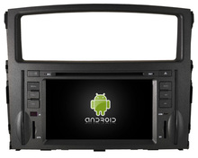 Quad-Core Android 5.1.1 CAR DVD player  FOR MITSUBISHI MONTERO car audio stereo Multimedia GPS support OBD