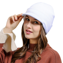 2017 Autumn and winter men and women ski hat knitting cap news boy hat fashion Autumn and winter new products high quality(China)