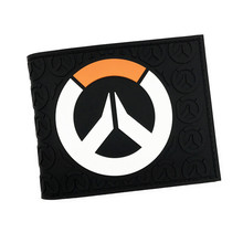 FVIP Hot Game OW TRACER REAPER D VA Anime Wallet High Quality Cool Purse for Teenager Dollar Price(China)