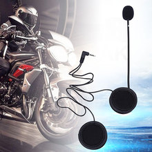 New Microphone Speaker Soft Cable Headset Accessory for Motorcycle Helmet Bluetooth Interphone Intercom Work with Any 3.5mm-plug