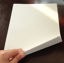 100 sheets , 8.5*11 inch  ,80gsm 75 cotton 25 linen  business paper, white color
