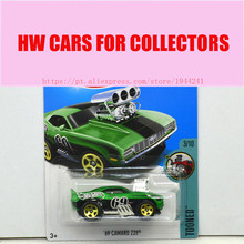 New Arrivals 2017 Hot Wheels 1:64 Purple 69 Camaro Z28 Metal Diecast Car Models Collection Kids Toys Vehicle For Children(China)
