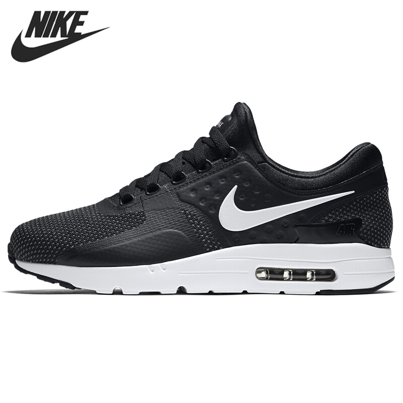 Original New Arrival 2017 NIKE AIR MAX ZERO ESSENTIAL Men's Running Shoes  Sneakers(China (
