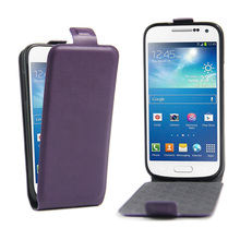 Fashion Wallet Flip Leather Case For Samsung Galaxy S4 Mini i9190 Luxury Cell Phone Cover With Card Holder Protective Phone Case