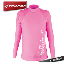 WINMAX Long Sleeves Swimwear,Surf Clothing,Diving Suits ,Swim Suit  Lycra Rash Guard Surf Shirt for Woman
