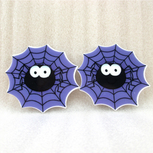 Halloween ghost skull flat back planar resin diy holiday decoration crafts accessories 25 piece,DIY handmade material,25Yc816(China)