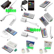 3Key 8Key 24Key 44 Key Music WiFi IR RF Remote Double Lines Controller For 3528 5050 RGB Led Strips