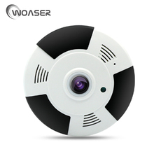 WOASER 960P 1.44mm Wide Angle HD Mini IP Camera WiFi Smart Wireless 3D Effect Security Camera 180Degree 2-way Talk Night Vision