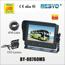 Heavy vehicle (trucks ,bus ,vans) reversing   rearview  HD  digital   monitor and camera systems  BY-08760MS