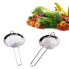 Stainless Steel Sieve Strainer Fine Wire Flour Baking Tea Kitchen Tools