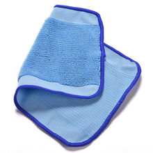 High Efficient Washable Reusable Microfiber Mopping Cloths for iRobot Braava 380t 320 Mint 5200 Robotic Kitchen Cleaning Wiping